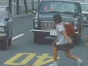 【44年前の静岡】見ているこっちがヒヤっとする昭和47年の交通安全指南映像